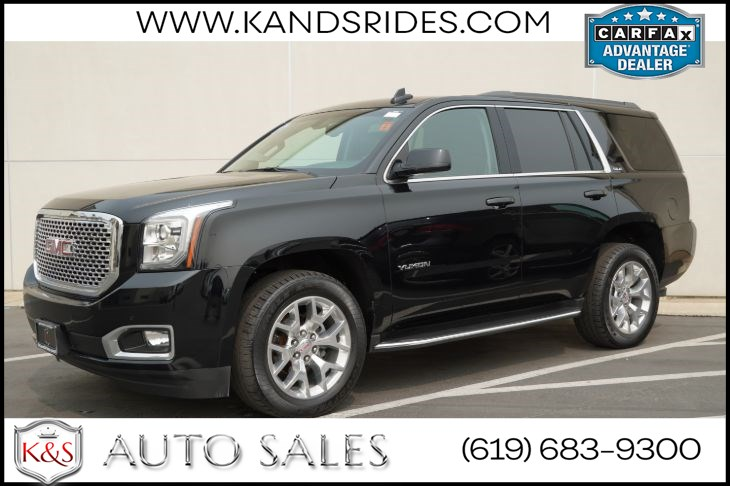 2017 GMC Yukon SLE | *One Owner*, Bluetooth, Back-up Cam, 4G-LTE/Wi-Fi Hotspot, Power Liftgate, Remote Start