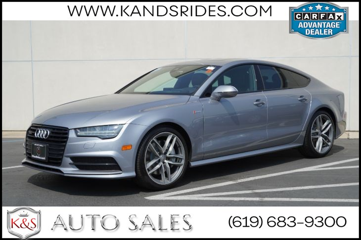 2016 Audi A7 3.0T Prestige quattro | AWD, Sunroof, Heated/ Ventilated Seats, Blind-spot Monitor, Back-up Cam