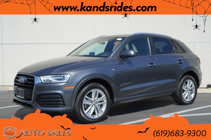 2018 Audi Q3 2.0T Premium | *One Owner*, Pano Roof, Heated Seats, Bluetooth, Back-up Cam