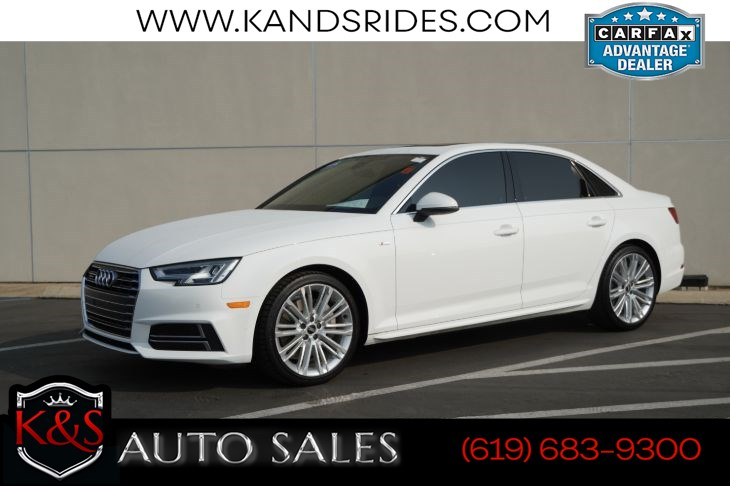 2017 Audi A4 2.0T Premium Plus quattro | *One Owner*, AWD, Sunroof, Heated Seats, Bluetooth, Back-up Cam