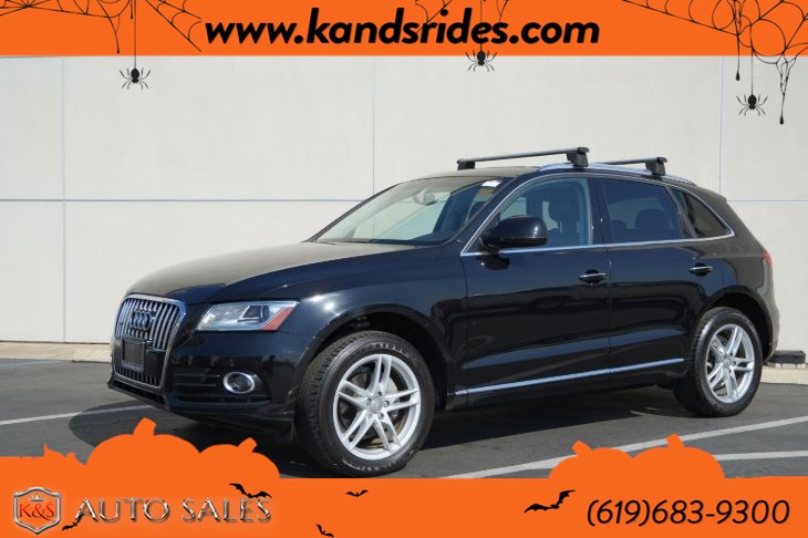 2017 Audi Q5 2.0T Premium quattro | *One Owner*, AWD, Pano Roof, Heated Seats, Bluetooth, Back-up Cam