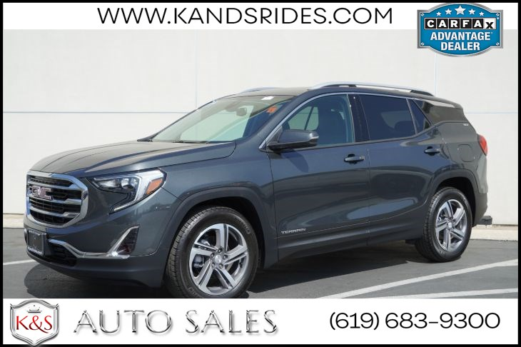 2020 GMC Terrain SLT, Leather, Back up Camera,Bluetooth Heated seats,Keyless start