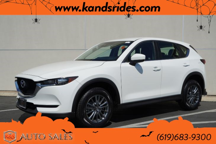 2017 Mazda CX-5 Sport | *One Owner*, Bluetooth, Back-up Cam, Keyless Ignition, 31mpg Hwy