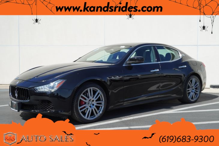 2017 Maserati Ghibli | *One Owner*, Sunroof, Heated Seats, Bluetooth, Back-up Cam, HID Headlamps