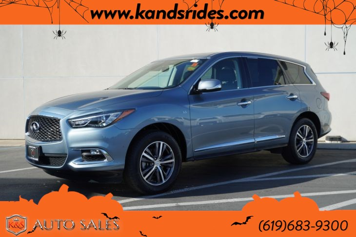 2019 INFINITI QX60 Pure | *One Owner*, AWD, Sunroof, Heated Seats, Blind-spot Monitor, Bluetooth, Back-up Cam