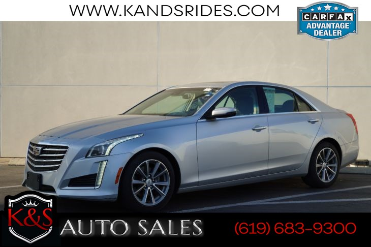 2018 Cadillac CTS 2.0T Luxury | *One Owner*, Sunroof, Heated/ Ventilated Seats, Adaptive Cruise Ctrl