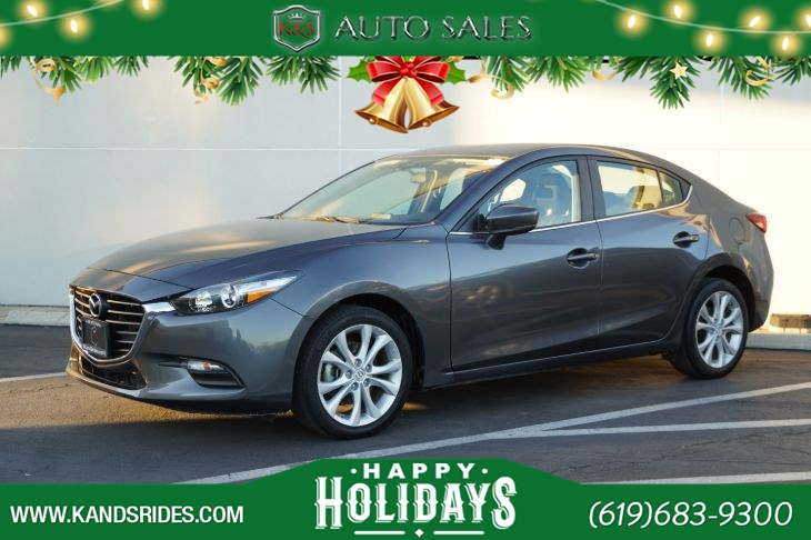 2017 Mazda Mazda3 Sport | *One Owner*, Bluetooth, Back-up Cam, Keyless Ignition, Cruise Ctrl, 37mpg Hwy