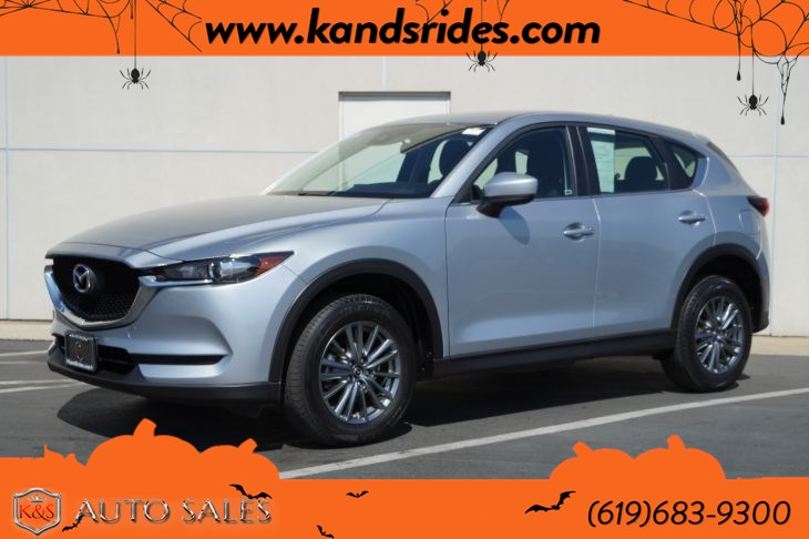 2017 Mazda CX-5 Sport | *One Owner*, Bluetooth, Back-up Cam, Keyless Ignition, Air Con, Cruise Ctrl, 31mpg Hwy