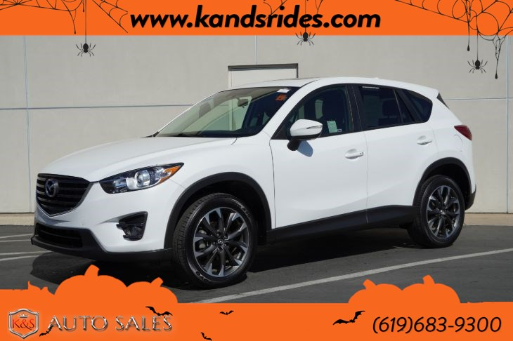 2016 Mazda CX-5 Grand Touring | *One Owner*, Sunroof, Heated Seats, Blind-spot Monitor, Bluetooth, Back-up Cam