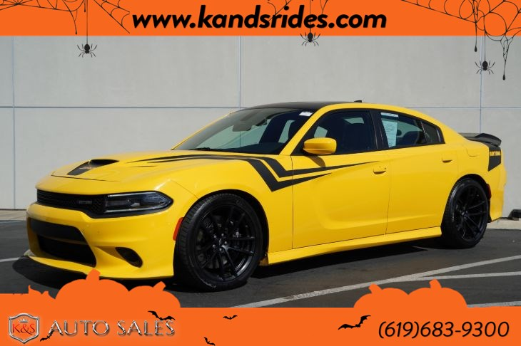 2017 Dodge Charger Daytona 392 | Sunroof, Heated/Ventilated Seats, Blind-spot Monitor, Bluetooth, Back-up Cam