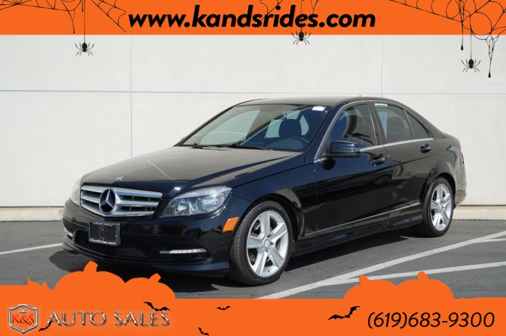 2011 Mercedes-Benz C 300 Sport 4MATIC | AMG Styling Pkg, Sunroof, Heated Seats, Bluetooth, Rear Window Sunshade