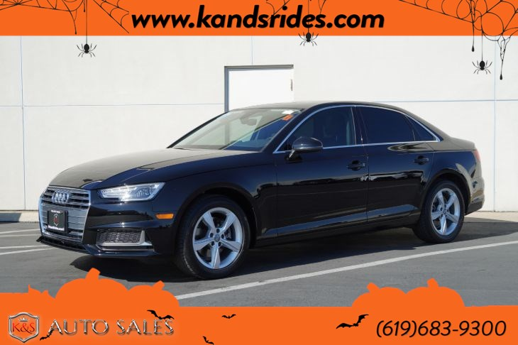 2019 Audi A4 40 Premium | *One Owner*, Sunroof, Heated, Seats, Bluetooth, Back-up Cam, Keyless Ignition