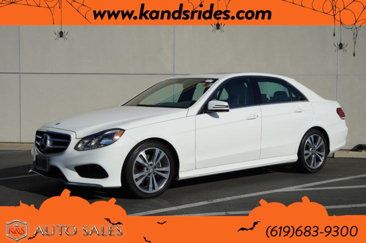 2014 Mercedes-Benz E 350 | AMG Styling Pkg, Sunroof, Heated Seats, Bluetooth, Back-up Cam, Rain-sensing Wipers