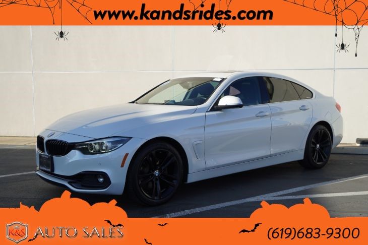 2018 BMW 430i Gran Coupe | Sport Line, Sunroof, Heated Seats, Blind-spot Monitor, Bluetooth, Back-up Cam