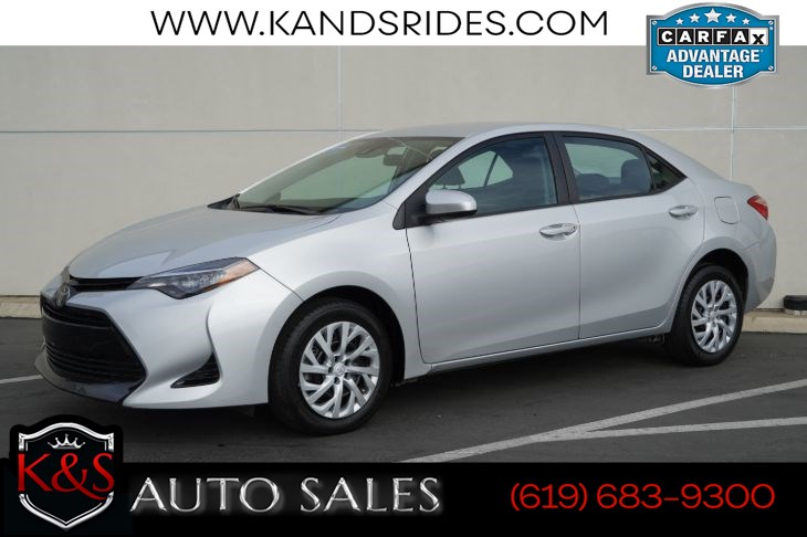 2018 Toyota Corolla LE | *One Owner*, Adaptive Cruise Ctrl, Lane-keeping Assist, Bluetooth, Back-up Cam