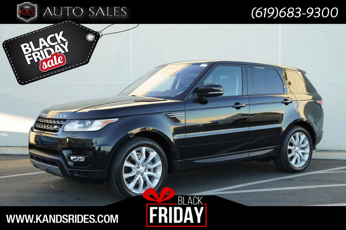 2016 Land Rover Range Rover Sport SE | *One Owner*, Diesel, Pano Roof, Heated Seats, Blind-spot Monitor, Bluetooth