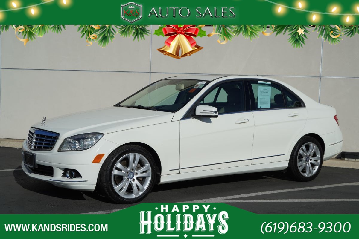2011 Mercedes-Benz C 300 Luxury | Sunroof, Heated Seats, Dual-zone Climate Ctrl, Power Accessories, 26mpg Hwy