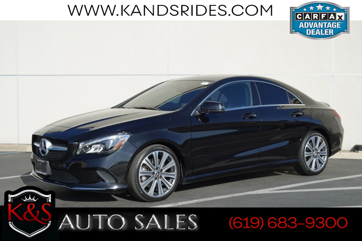 2018 Mercedes-Benz CLA 250 | *One Owner*, Blind-spot Monitor, Bluetooth, Back-up Cam, Android Auto/Apple CarPlay