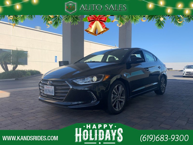 2017 Hyundai Elantra Limited Adaptive Cruise Control BackUp Cam Cross Traffic Alert Navigation Sys BSM  1 Owner