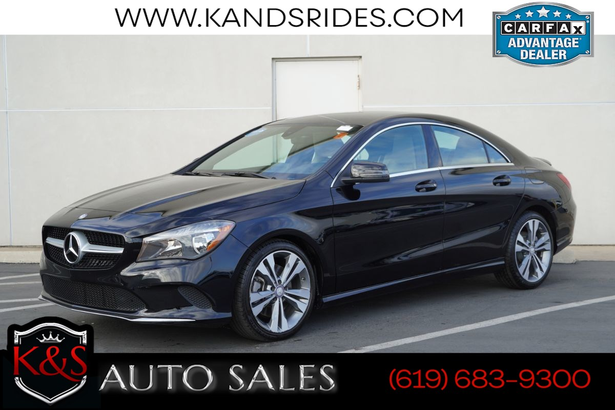 2017 Mercedes-Benz CLA 250 | *One Owner*, Blind-spot Monitor, Bluetooth, Back-up Cam, Android Auto/Apple CarPlay