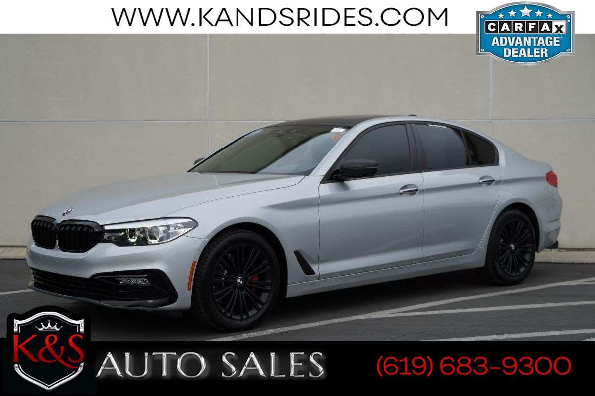 2018 BMW 540i | *One Owner*, Sport Line, Sunroof, Heated Seats, Blind-spot Monitor, Custom Body Kit/Wheels