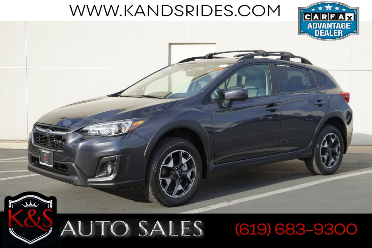 2019 Subaru Crosstrek 2.0i Premium | *One Owner*, Sunroof, Heated Seats, EyeSight w/Adaptive Cruise Ctrl