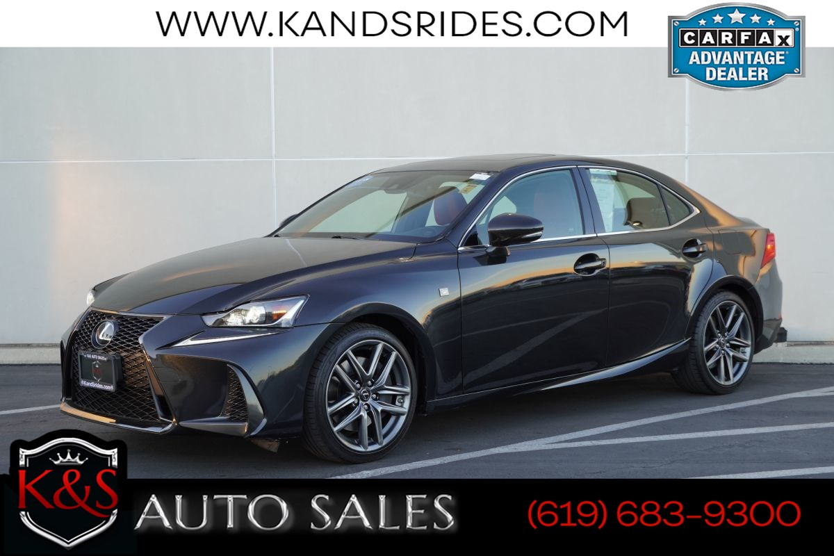 2017 Lexus IS 200t F Sport | *One Owner*, Sunroof, Heated/ Ventilated Seats, Adaptive Cruise Ctrl