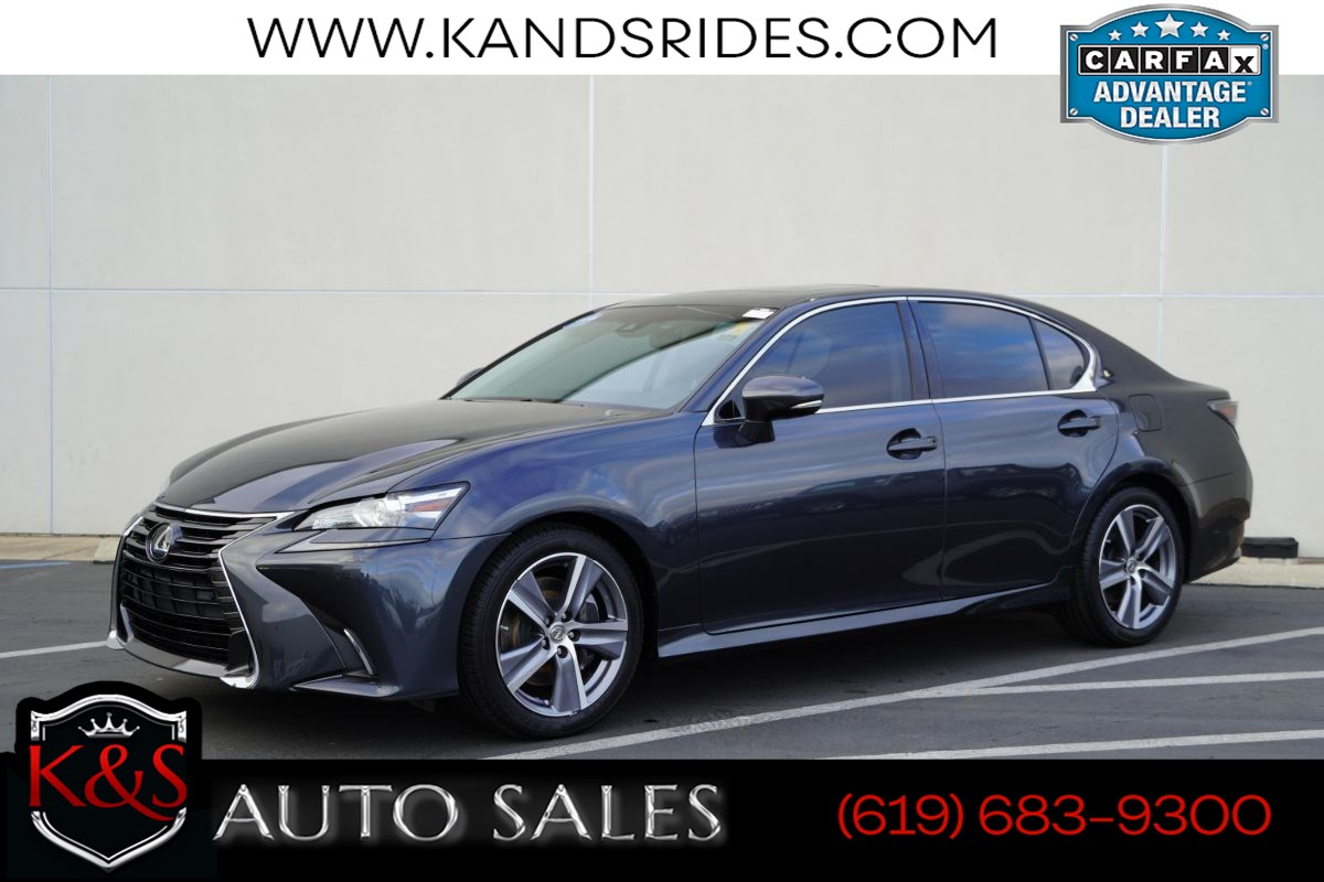 2017 Lexus GS 200t | Sunroof, Heated/ventilated Seats, Adaptive Cruise Ctrl, Blind-spot Monitor