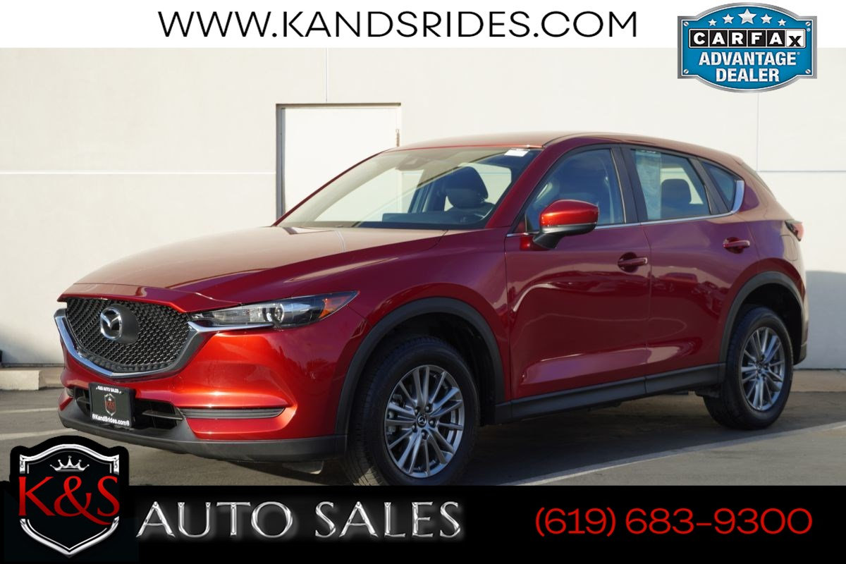 2018 Mazda CX-5 Sport | *One Owner*, Blind-spot Monitor, Bluetooth, Back-up Cam, Keyless Ignition