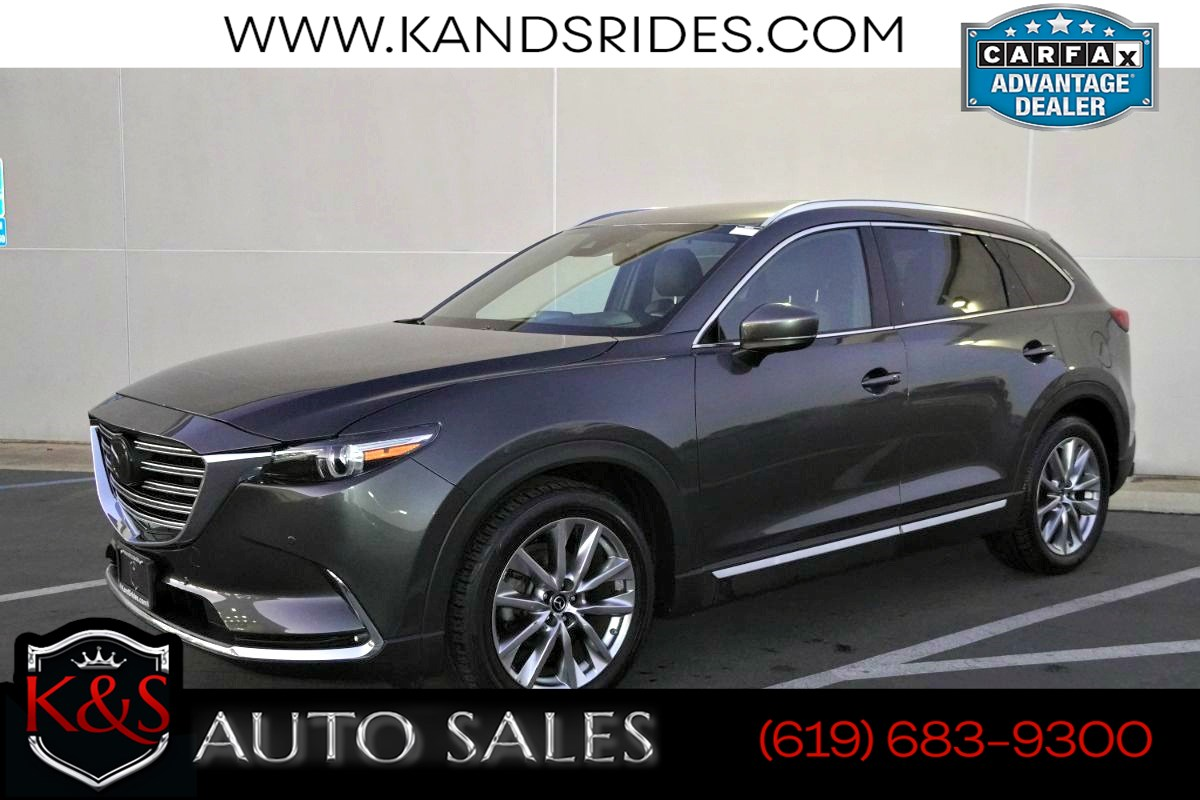 2018 Mazda CX-9 Grand Touring | *One Owner*, Sunroof, Heated Seats, Adaptive Cruise Ctrl, Blind-spot Monitor