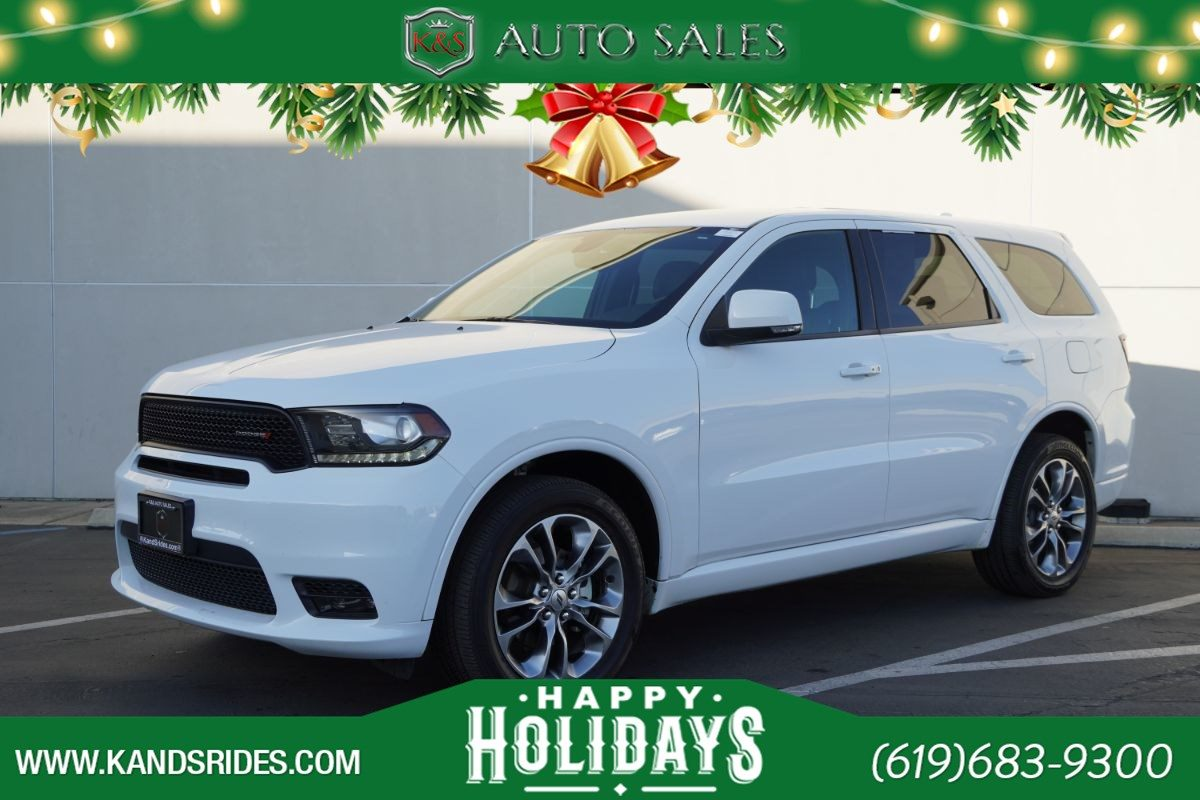 Used 2019 Dodge Durango Gt Plus One Owner Awd Heated Seats Bluetooth Back Up Cam Keyless Ignition In San Diego