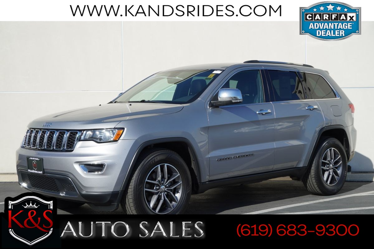2018 Jeep Grand Cherokee Limited | *One Owner*, Heated Seats, Back-up Cam, Android Auto, Apple CarPlay