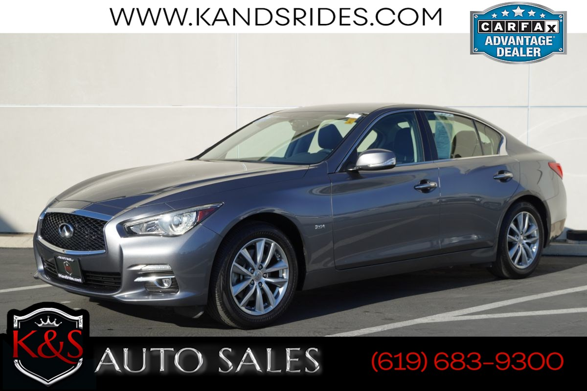 2017 INFINITI Q50 2.0t | *One Owner*, Sunroof, Bluetooth, Back-up Cam, Keyless Ignition, 31mpg Hwy