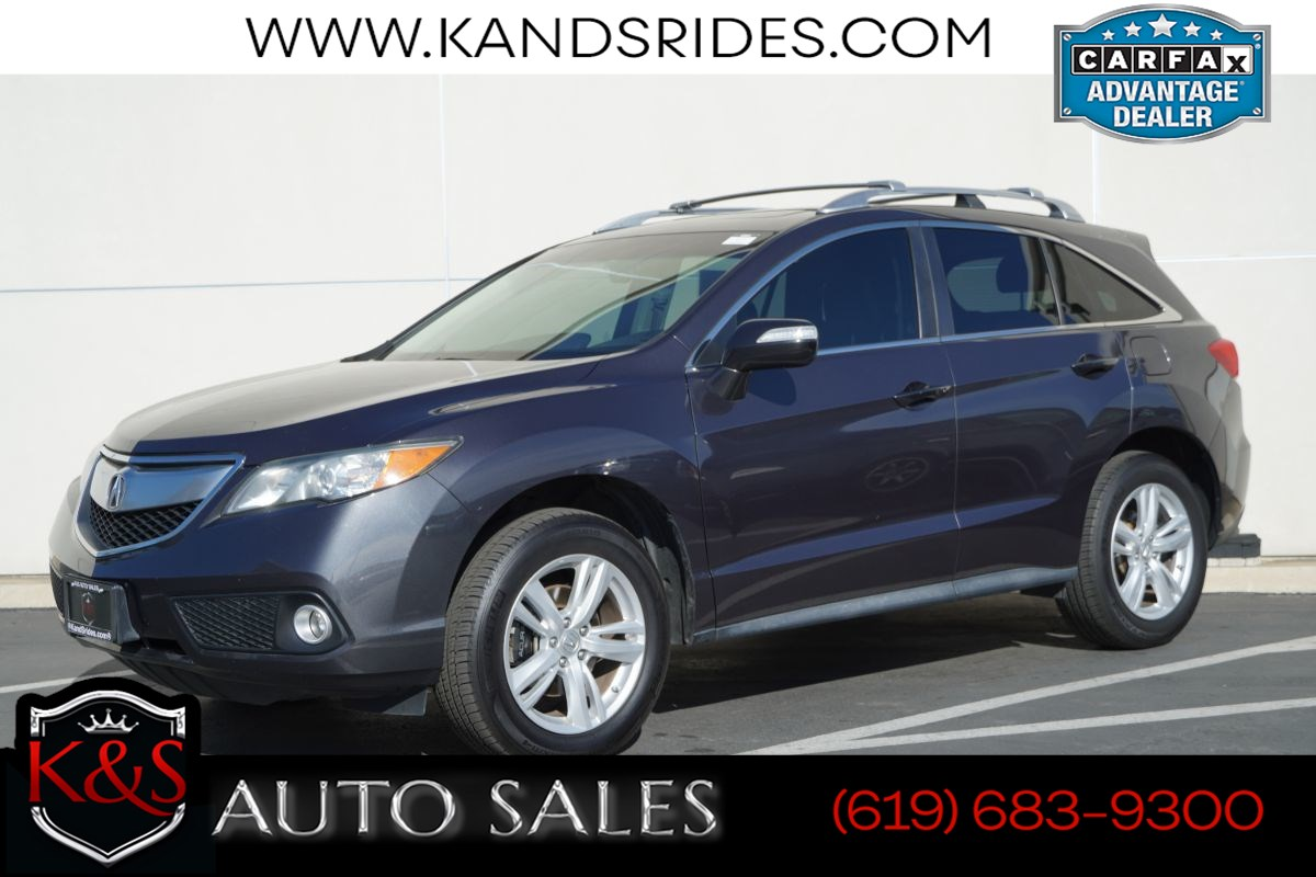 2015 Acura RDX Technology Package | *One Owner*, Sunroof, Heated Seats, Bluetooth, Back-up Cam, Navigation
