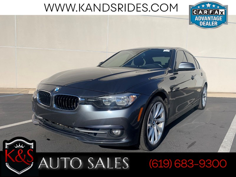 2017 BMW 320i Leather Seats Moonroof Backup Cam Bluetooth Navigation Sys Rear Parking Aid Keyless Start