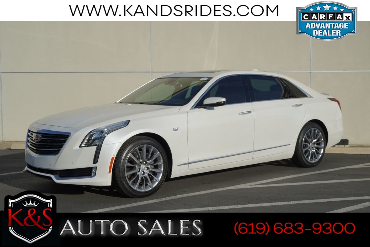 2017 Cadillac CT6 3.6 Luxury | *One Owner*, AWD, Pano Roof, Heated/Ventilated Seats, Blind-spot Monitor, Wi-Fi