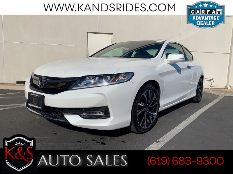 2017 Honda Accord Coupe EX-L | Sunroof, Heated Seats, Bluetooth, Back-up Cam, LaneWatch, 34mpg Hwy