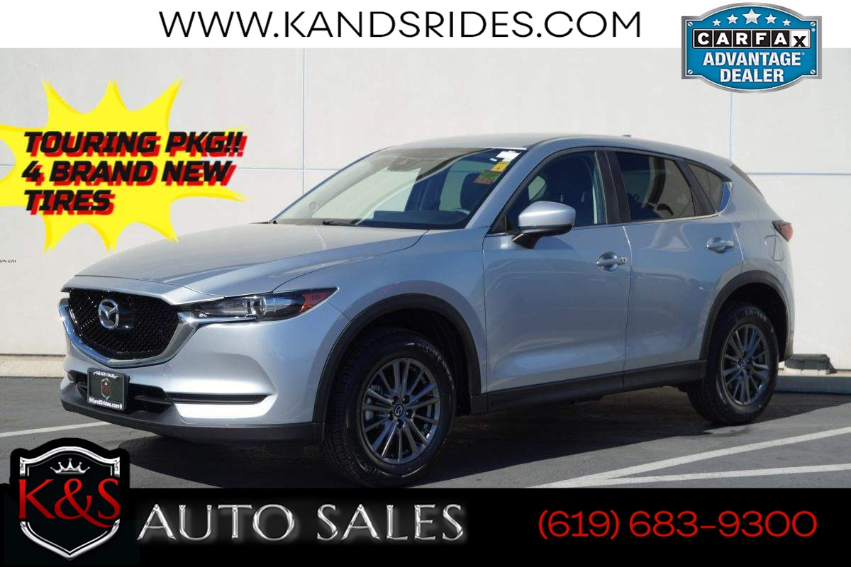 2017 Mazda CX-5 Touring | *One Owner*, Heated Seats, Blind- Spot Monitoring, Bluetooth, Back-up Cam
