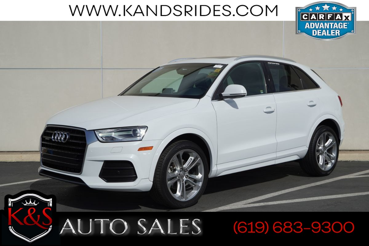 2017 Audi Q3 2.0T Premium Plus quattro | *One Owner*, AWD, Pano Roof, Heated Seats, Blind-spot Monitoring