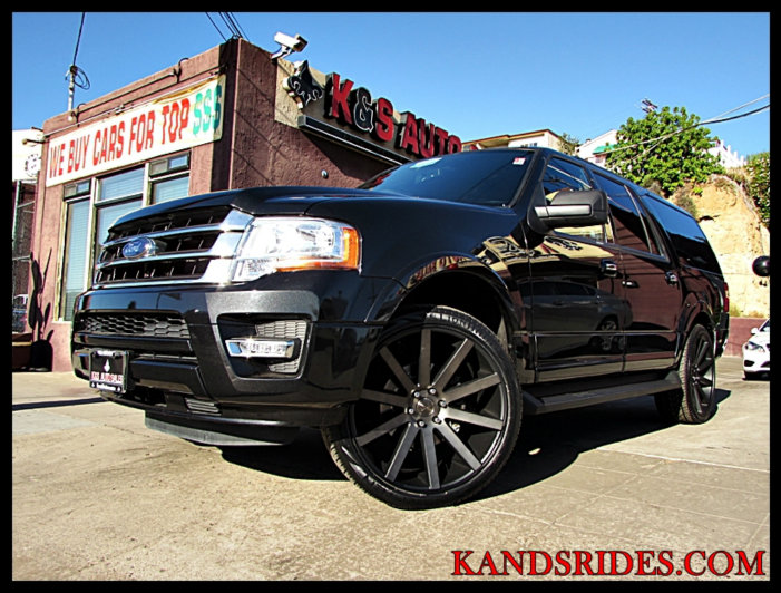 Sold 2015 Ford Expedition El Xltcarfax 1 Owner3 Row Seating Sync
