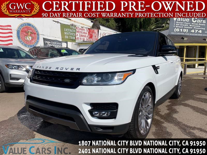 2016 Land Rover Range Rover Sport Supercharged Dynamic Sport Utility 4D
