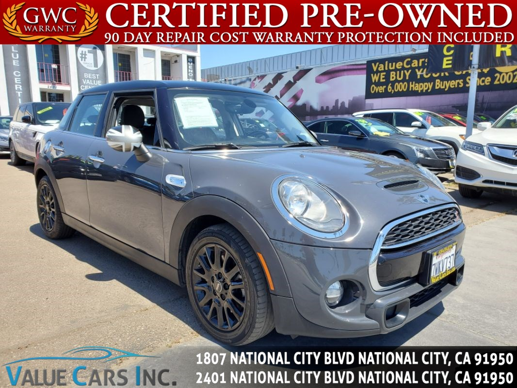 2016 MINI Cooper Hardtop 4 Door Cooper S Hatchback 4D