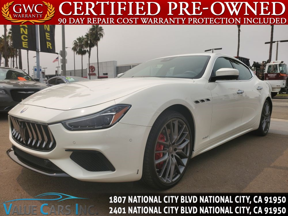 2018 Maserati Ghibli S GranSport Sedan 4D
