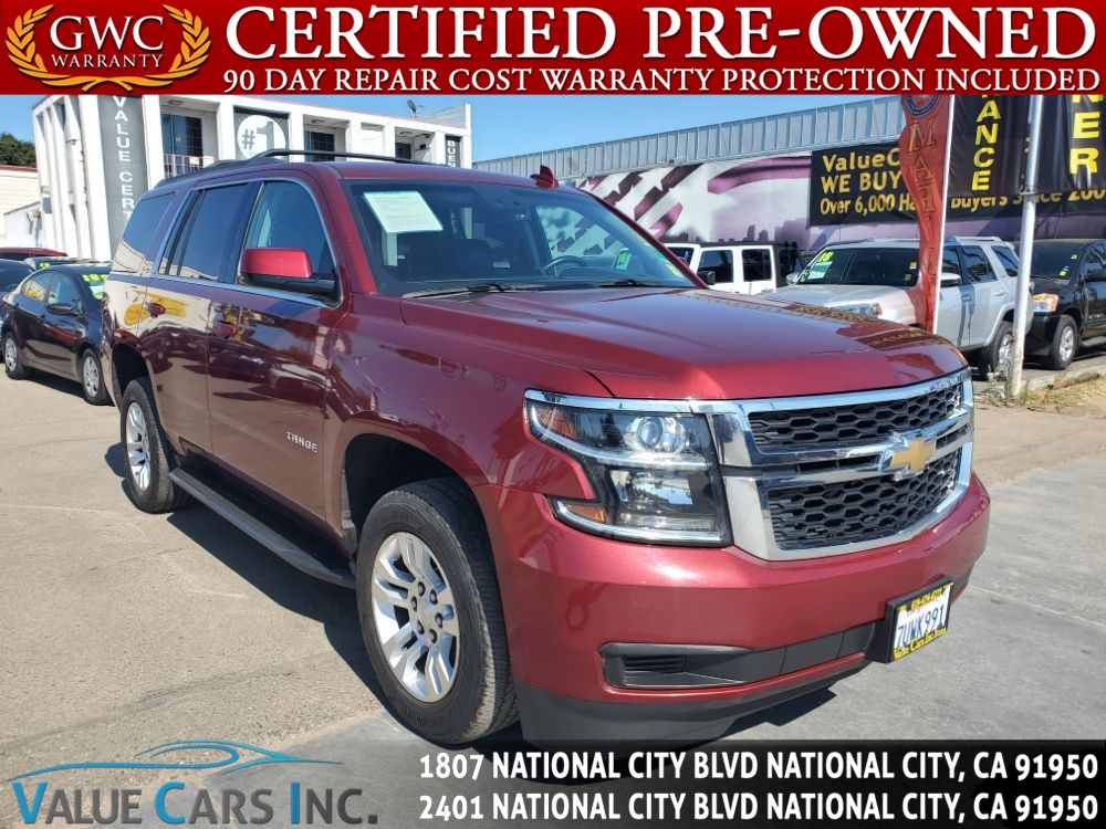 Sold 2016 Chevrolet Tahoe Lt In National City