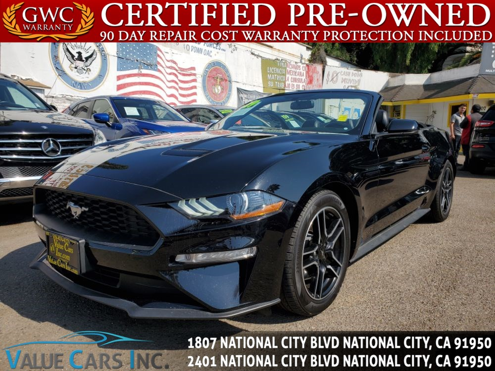 2019 Ford Mustang EcoBoost Premium Convertible 2D