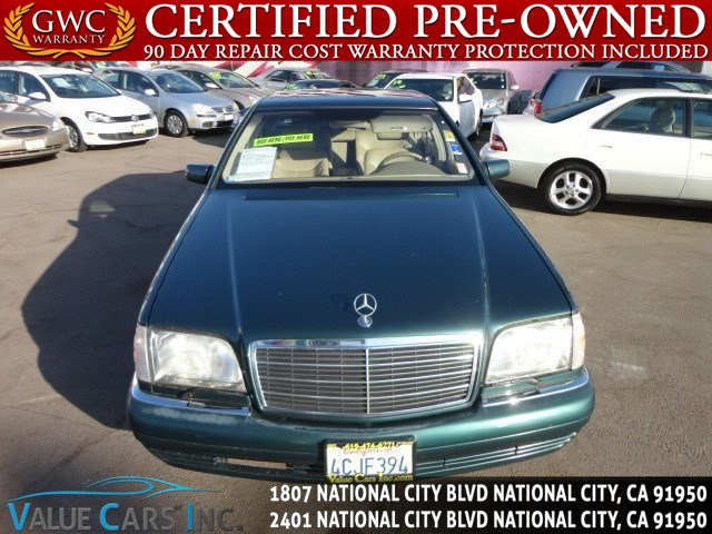 Sold 1998 Mercedes-Benz S420 Sedan in National City