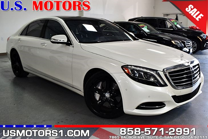 2014 Mercedes-Benz S 550 Sedan*CLEAN TITLE