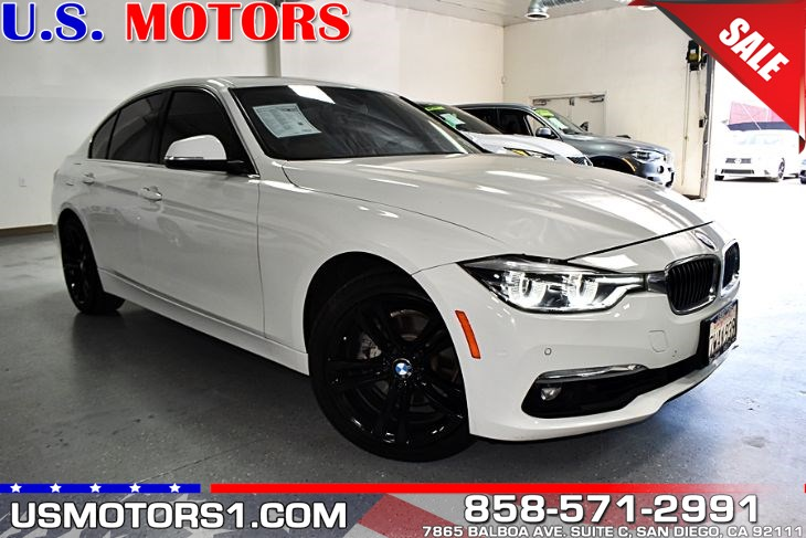 2016 BMW 3 Series 328i*CLEAN TITLE/1-OWNER PER AUTOCHECK