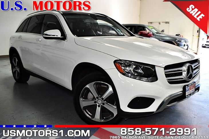 2016 Mercedes-Benz GLC 300 *CLEAN TITLE/1-OWNER PER AUTOCHECK