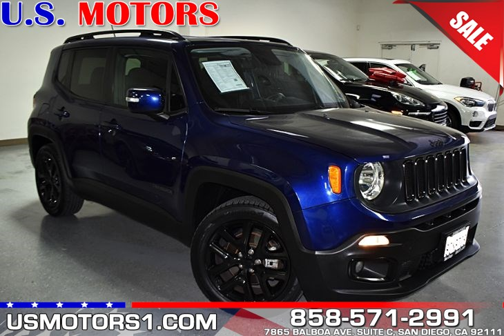 2017 Jeep Renegade Altitude*CLEAN TITLE/1-OWNER PER AUTOCHECK